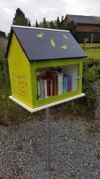 Boîte à livres - Franc Waret